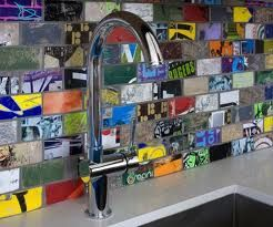 kitchen splashback ideas sabi style - Google Search