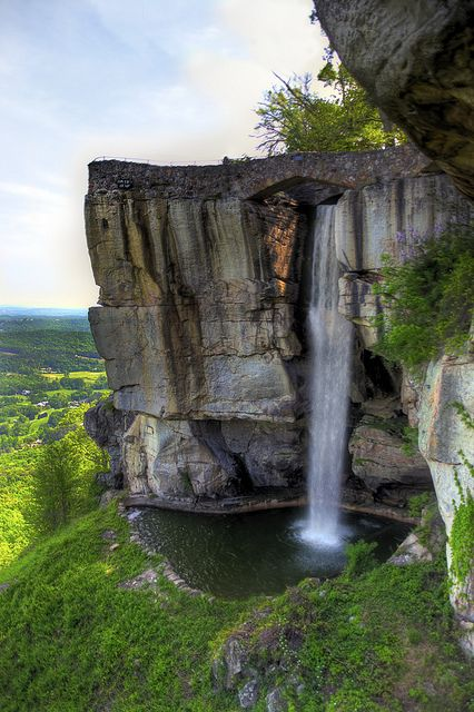 Lover's Leap at Rock City in Lookout Mountain, #Georgia.