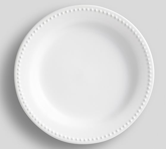 Emma Dinner Plate, Set of 4 -True White
