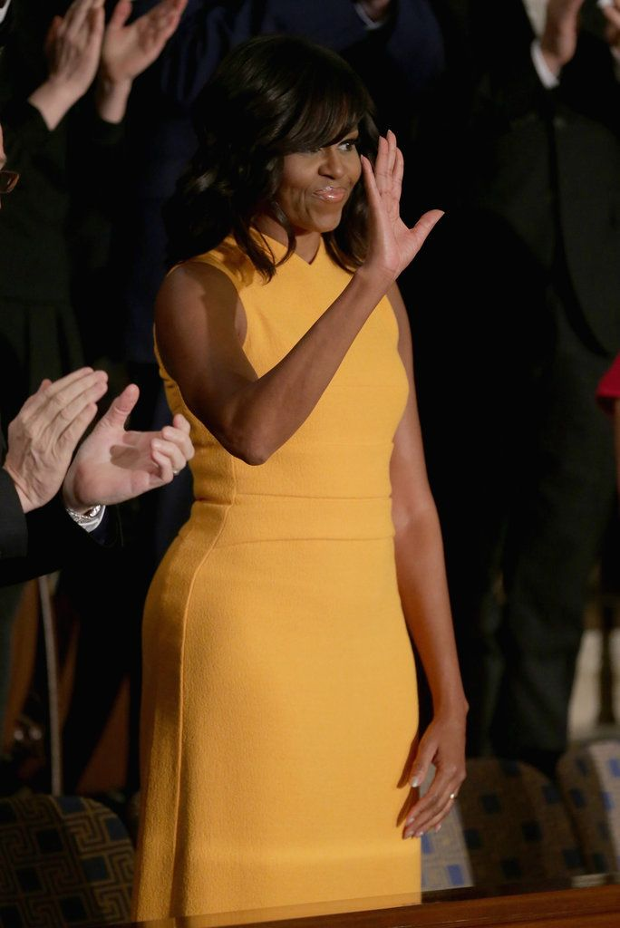 Michelle Obama's Dress at the State of the Union 2016 | POPSUGAR Fashion