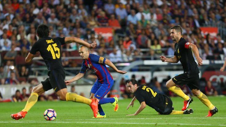 Partido Liga FC Barcelona-Atlético de Madrid