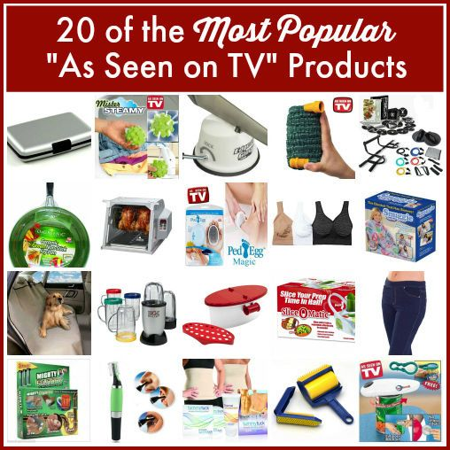 """You'll probably recognize a few of the """"As Seen on TV"""" bestsellers. Quite possible the best holiday gift guide--or white elephant gift guide--this season. #giftguide #asseenontv #eBayGuides"""