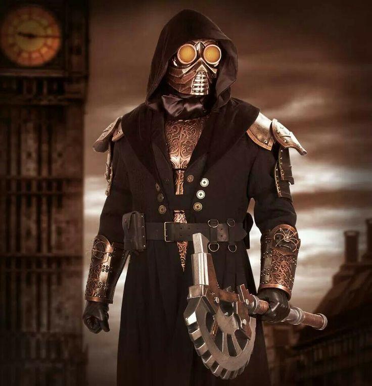 Steampunk vigilante
