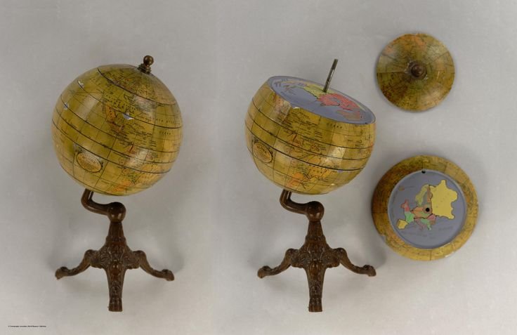 1927 Puzzle Globe