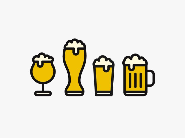 Beer Icon Set Design by Nils Helmersson
