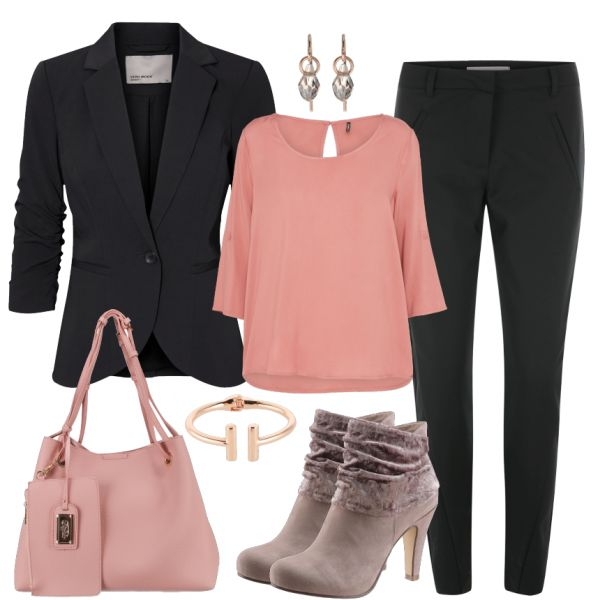 Leisure Outfits: Pinkgirl at FrauenOutfits.de