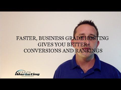 http://lnx2.co/2yF Brisbane SEO expert Jeremy from Stealth iMarketing explains why your hosting could be hurting your rank and conversions  In this news episode:  1: – Recent event where conversions were strongly talked about 2: – How to get value priced dedicated hosting 3: – Where to test your current site speed  Click here to see full description: http://lnx2.co/2yF