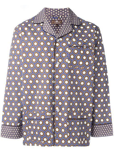 OTIS BATTERBEE cobalt cravat pyjama set. #otisbatterbee #cloth #set