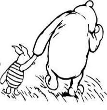142 best images about winter in the hundred acre wood on for Classic pooh coloring pages