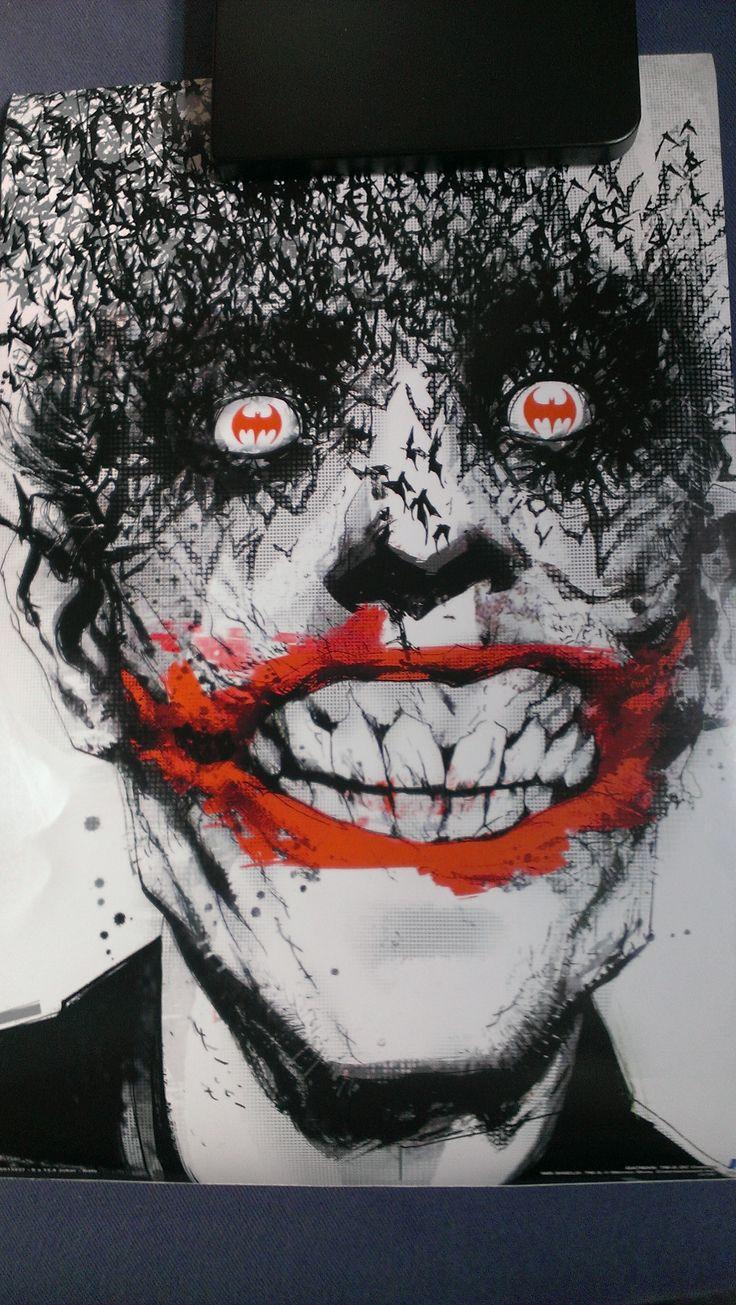 Joker Poster from Villain Lootcrate
