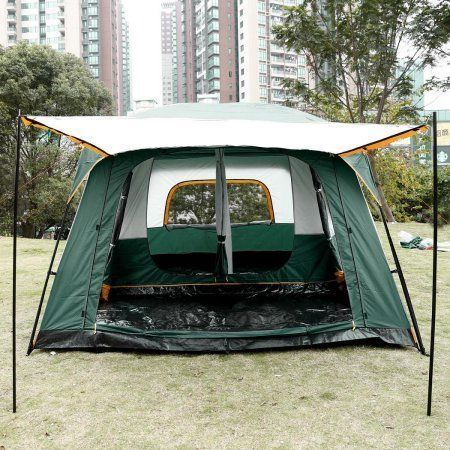 Buy 8 Person Family Cabin Tent 3 Room Camping Hiking With