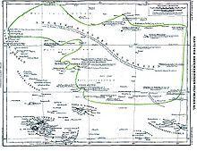 Wyspy Polinezji: Hawaje -Honolulu Wyspy Line - Wyspy Feniks - Wyspy Tokelau - Fakaofo Wyspy Lagunowe - Vaiaku Wyspy Samoa - Apia / Pago Pago Wyspy Tonga- Nukuʻalofa Wyspy Cooka- Avarua Niue - Alofi Wyspy Tubuai -  Wyspy Towarzystwa - Papeete Wyspy Tuamotu -  Wyspy Gambiera - Rikitea Markizy - Taiohae Pitcairn - Adamstown Wyspa Wielkanocna - Hanga Roa
