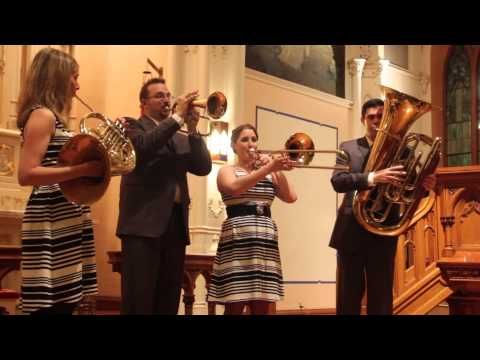 ▶ Copland: Simple Gifts (from Appalachian Spring) - Alliance Brass Quintet - YouTube