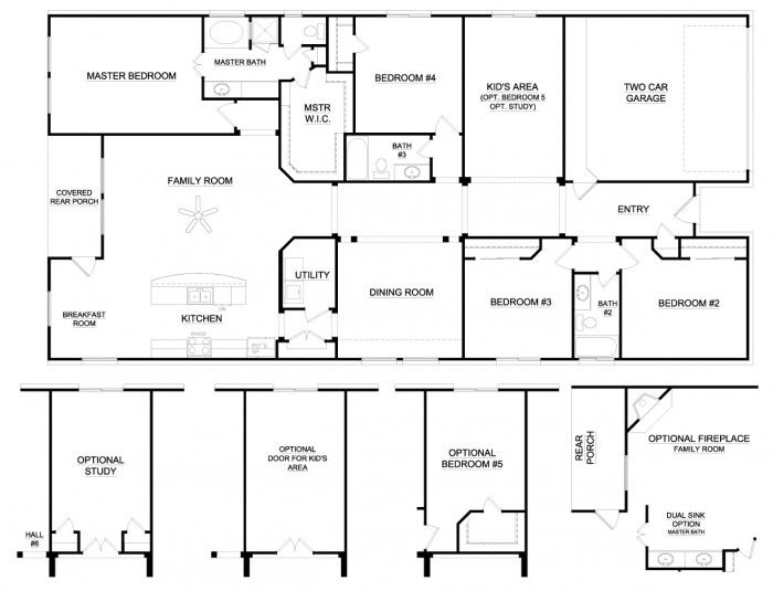 bedroom house plans with wrap around porch more new house 7 bedroom