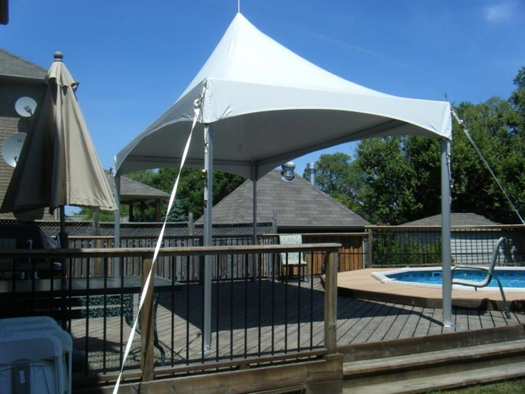 10 x 20 High Peak Tent. The Price includes delivery and set-up within Niagara.