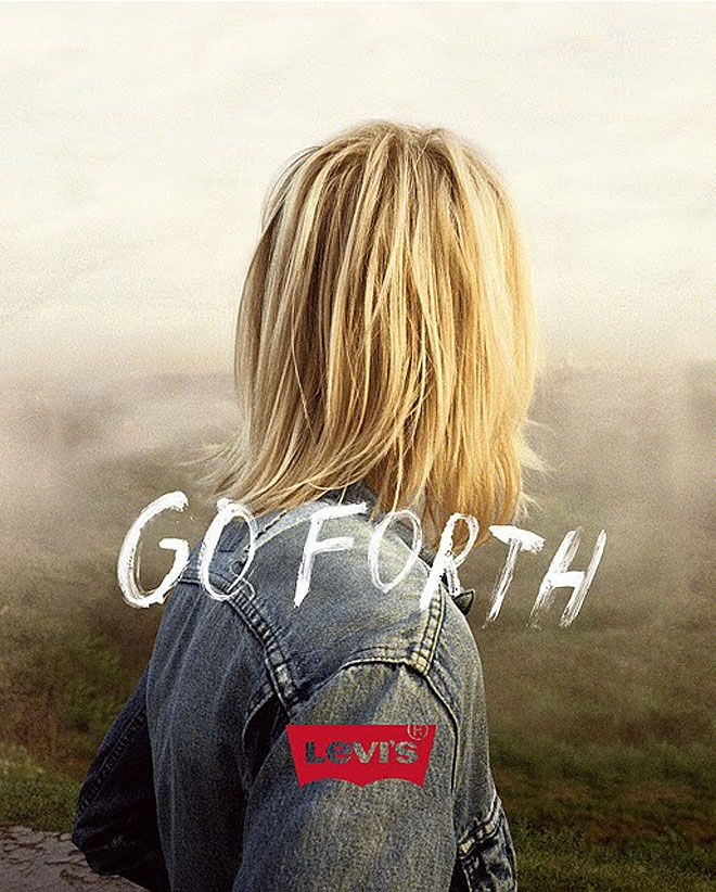 Levis new advertising campaign by photographer Jeff Luker. MY NEW HAIRCUT LOOKS A BIT LIKE THIS : )