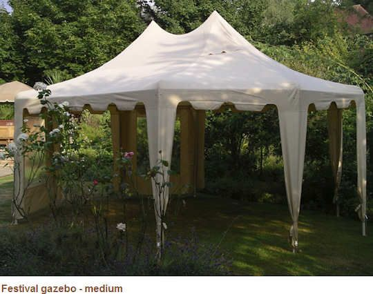 Festival Gazebo Tent in Medium This Festival Gazebo Tent is a medium sized octagonal party tent which comes complete with all the side curtains guy ropes ... & The 25+ best Gazebo tent ideas on Pinterest | Large gazebo Party ...