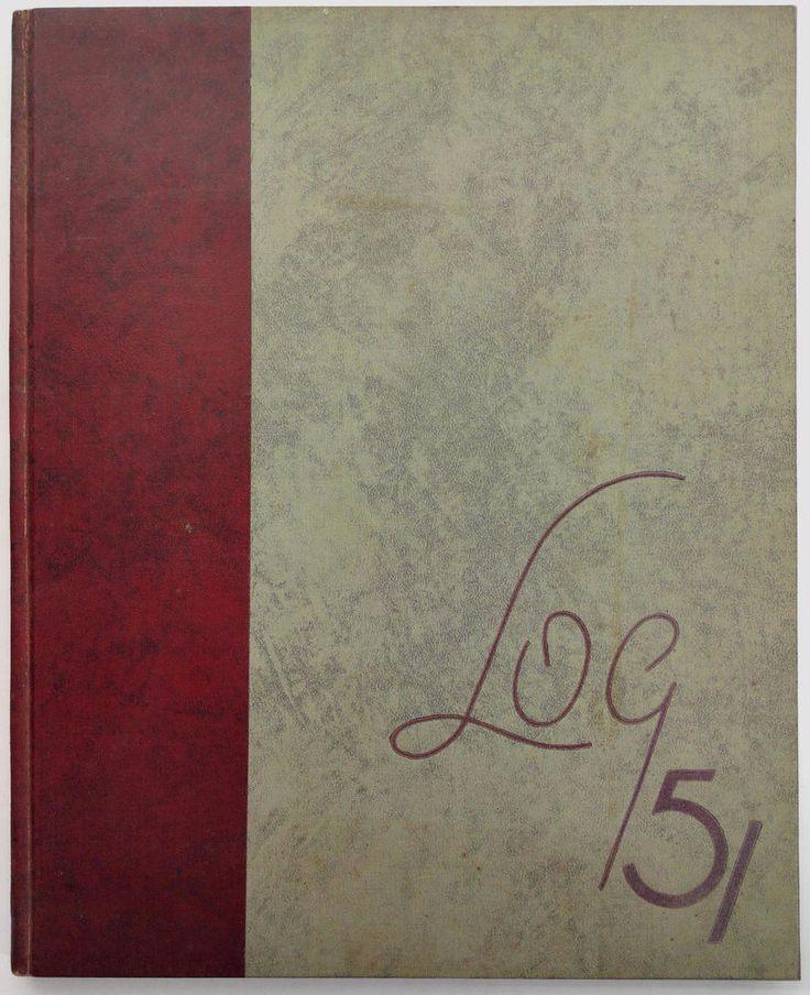 1951 ORANGE COAST COLLEGE Costa Mesa California Original YEARBOOK Annual Log
