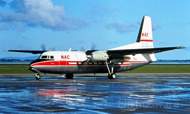 NZ NAC, FAIRCHILD HILLER FH-227 (ZK-BXG) at NZAA 1977