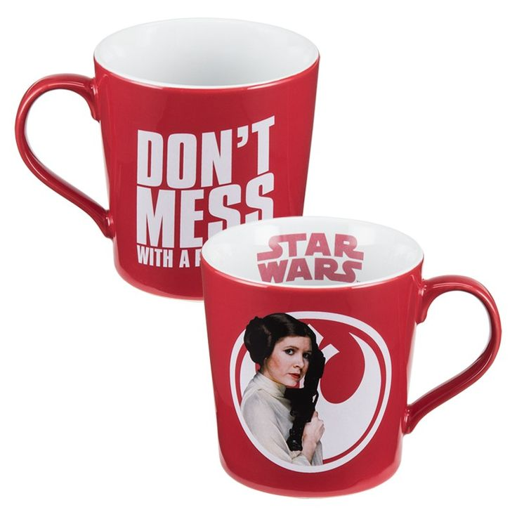 The Star Wars: Princess Leia 12 oz. Ceramic Mug has finally arrived, your highness