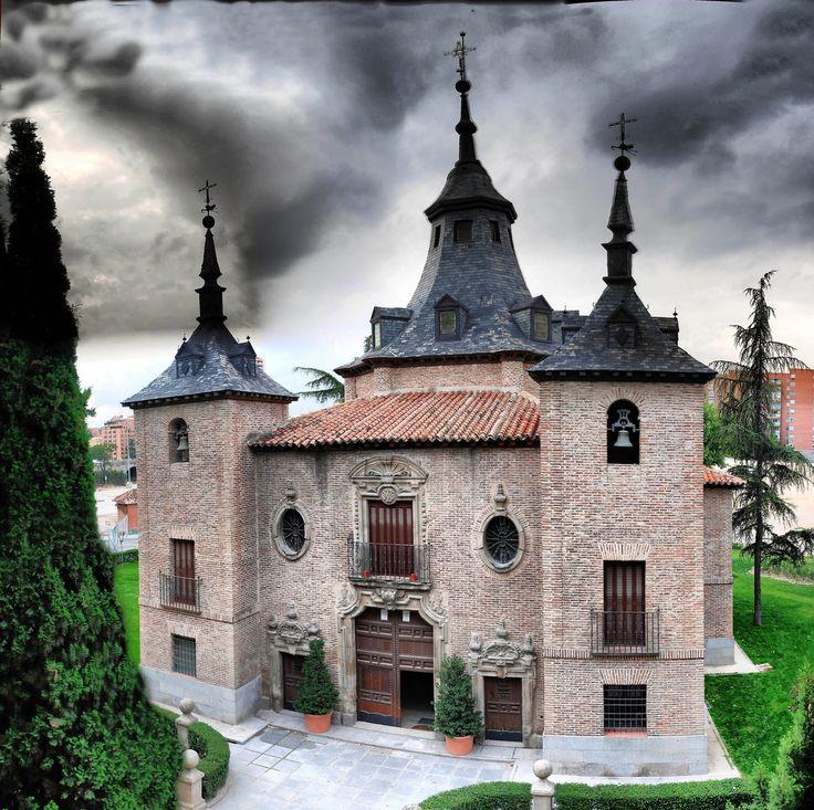 Ermita de la Virgen del Puerto, Puerta del Angel, Madrid_ Spain