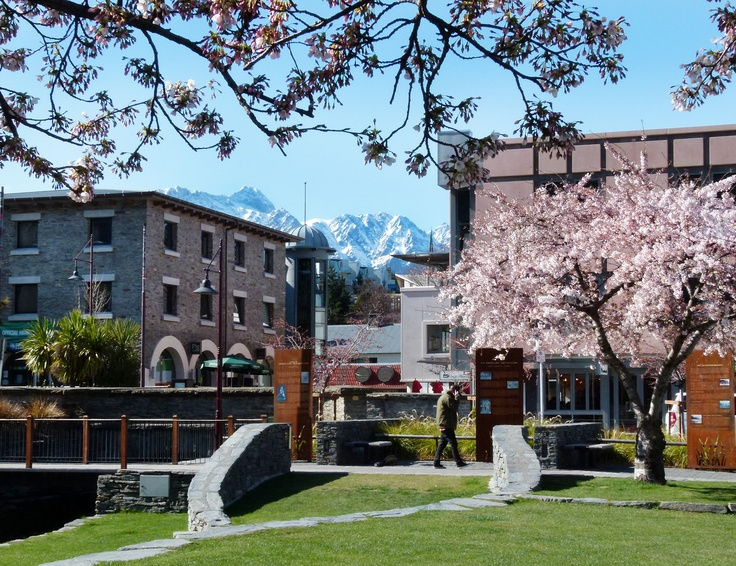 View from the Village Green, Queenstown