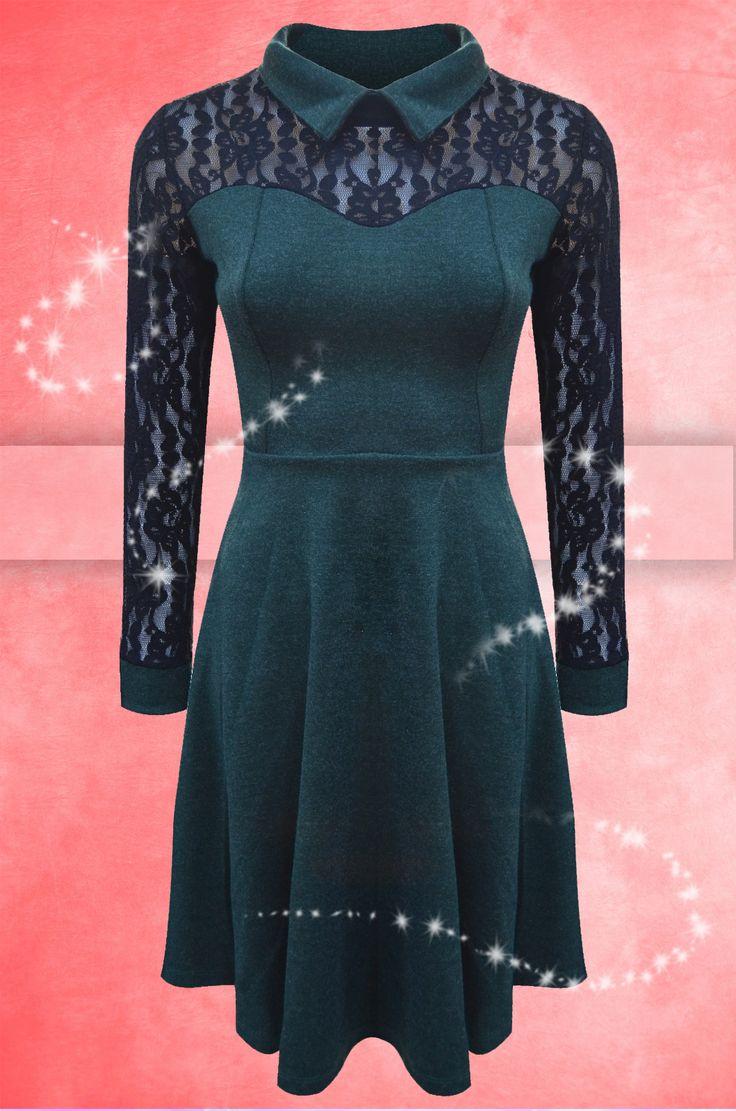 La Adrom Collection a sosit această rochie fabricată din angora cu conținut de bumbac și danteă. Se poate achiziționa în regim en-gros de aici: http://www.adromcollection.ro/446-rochie-angro-6145.html