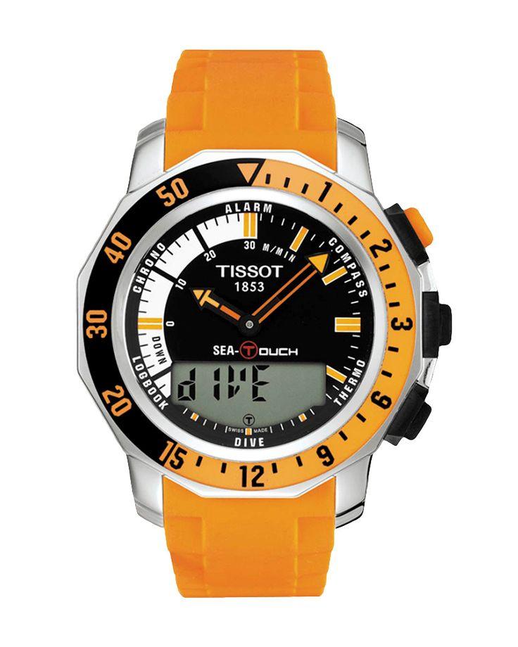 Ρολόι TISSOT SEA-TOUCH IN METERS T0264201728102