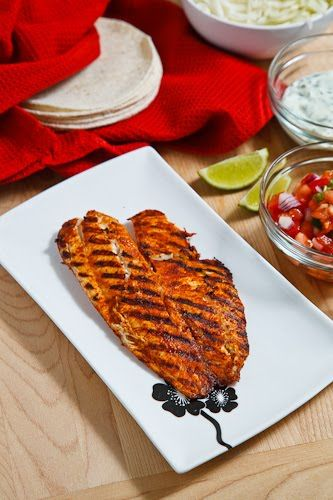 Chipotle Lime Fish Tacos | Recipe