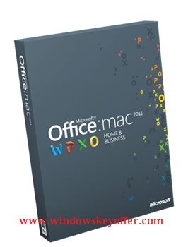Mac office home&Biz 2011 retail versions with the download link and a genuine license key ,only $35.99