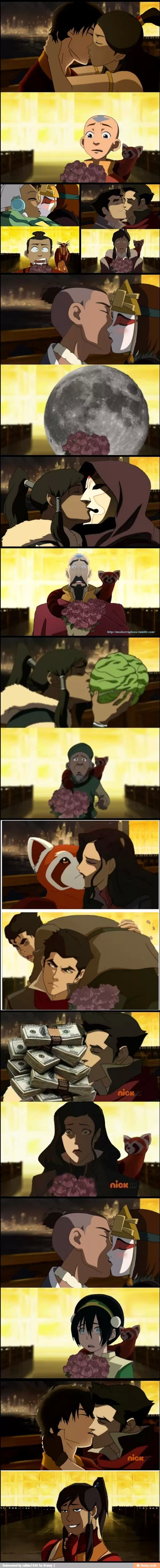 Legend of Korra Wut the heck why is this funny