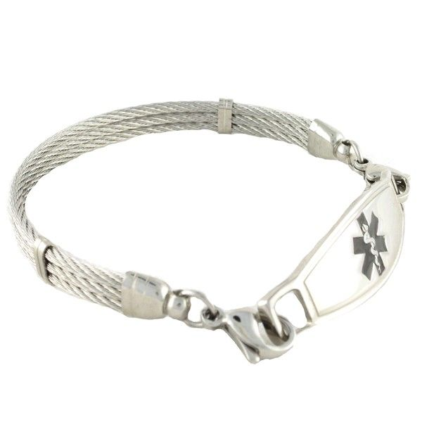 17 Best Ideas About Medical Id Bracelets On Pinterest