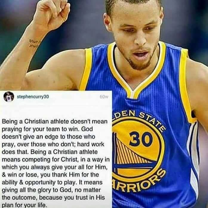 AMEN, EXACTLY! Even if you are not a huge Basketball fan but still a Christian, you will love this quote. People think praying is all about getting what you want like a Genie from Aladdin, when in reality it's about praying for #Hope #Faith and being #Thankful for the #Blessings we have, showing our #Humility as a #Christian #Soldier.