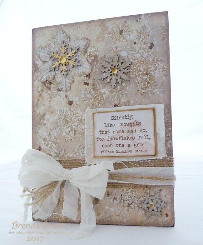 EAB05 Winter Edition by Brenda at Bumblebees and Butterflies