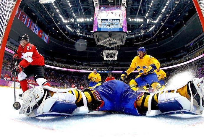 Blog Esportivo do Suiço: Canadá vence a Suécia e é bicampeão olímpico de hóquei no gelo.