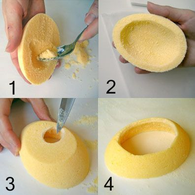 This photo tutorial shows how to make panoramic sugar eggs for Easter.