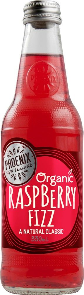 Phoenix raspberry fizz 330ml