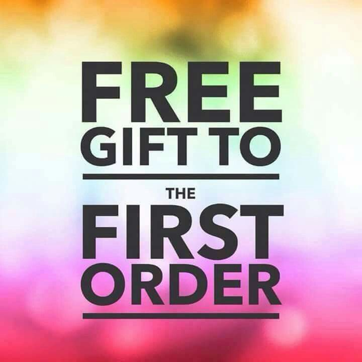 Be the first person to order and get a free gift!! <3                                                                                                                                                                                 More