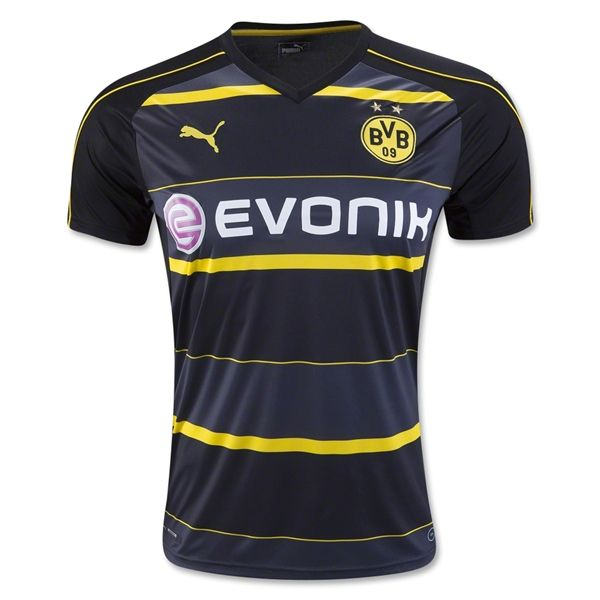 Borussia Dortmund 16/17 Away Soccer Jersey