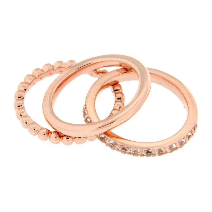 Set van 3 ringen.