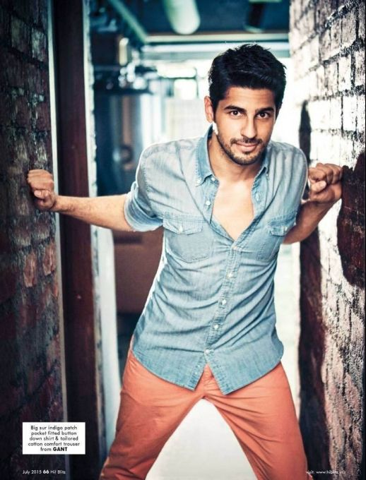 Sidharth Malhotra Hi Blitz July 2015 #photoshoot. #Bollywood #Fashion #Style #Handsome