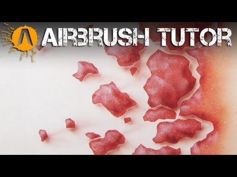 How to Airbrush Rock Textures