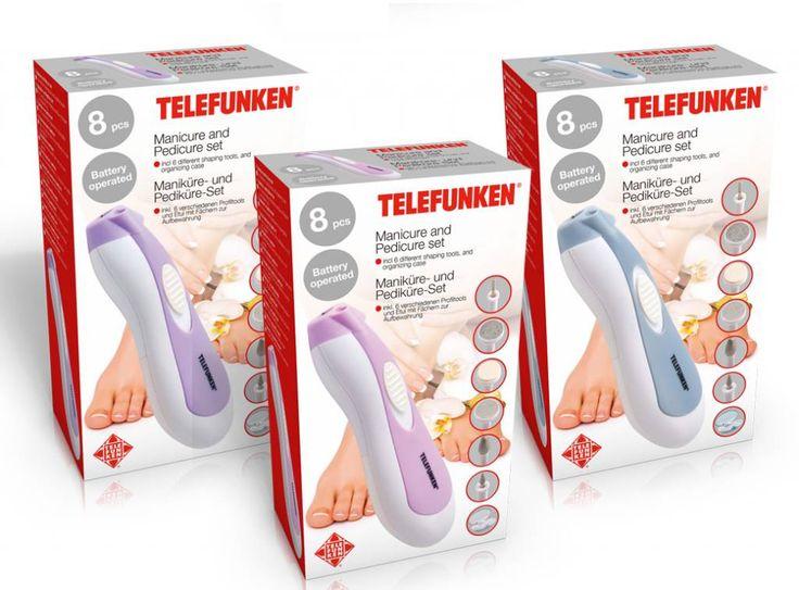 Manicure- en Pedicureset (Telefunken) #manicureset #pedicureset #telefunken #nagelsverzorgen