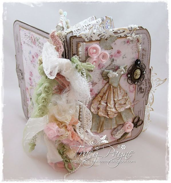 Shabby Lace Book by Crafteezee