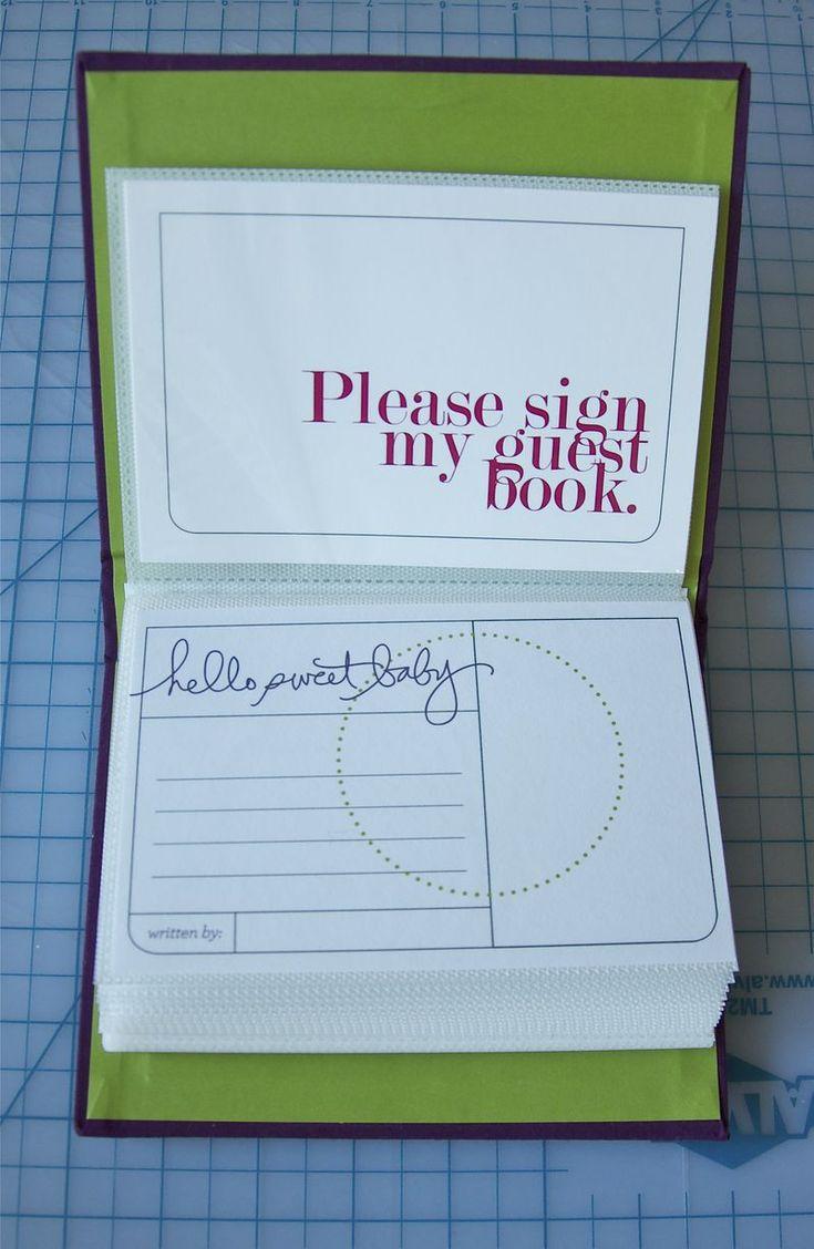 Cute Guest Book #babyshower