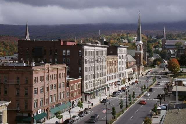 Main Street storefronts in North Adams, Massachusetts 2