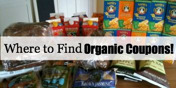Where to Find Organic Coupons