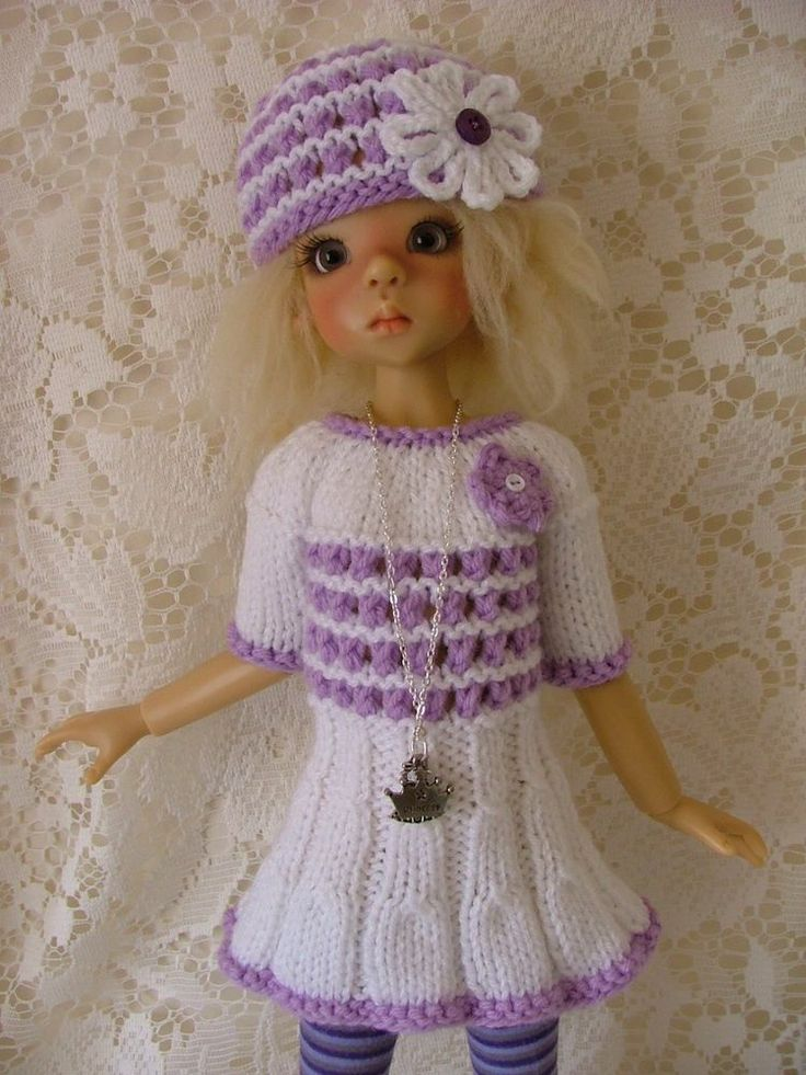 """OOAK Outfit for Kaye Wiggs 18"""" BJD Layla and same size dolls"""