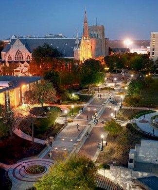 Creighton University campus, Omaha NE