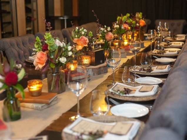 Styling, flowers and hire: Adorn Event Hire Venue: Malt Dining, Brisbane CBD QLD